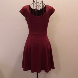Nordstrom burgundy dress